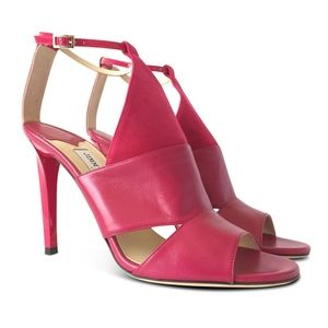 NEW Timbus 100 Ankle Strap Open Toe Sandal - Pink